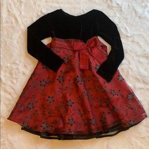 Blueberi Boulevard girls holiday Christmas dress